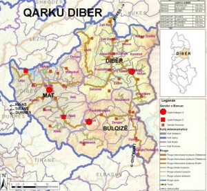 Harta e Qarkut Diber