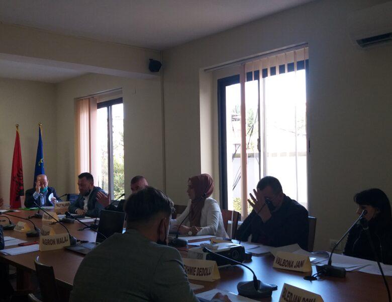 Mbledhja e rradhës e Këshillit të Qarkut Dibër.