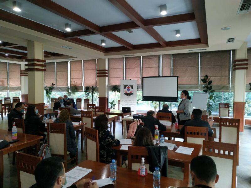 Workshop- i  me Këshilltarët bashkiakë të Qarkut Dibër dhe përfaqësuesin e prefekturës Dibër.